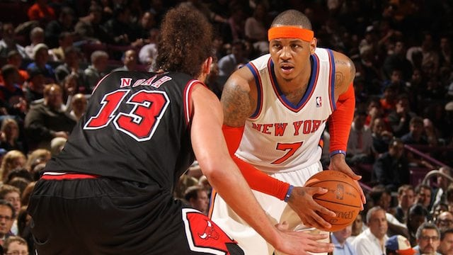 VIDEO  Carmelo Anthony   Joakim Noah are in the gym 9e181cf0c