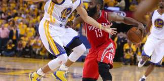James Harden and Stephen Curry