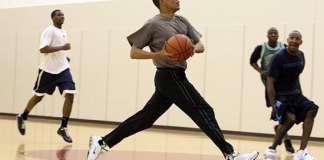 Barack Obama, Pickup ball