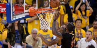 Cleveland Cavaliers, Golden State Warriors, LeBron James, Andre Iguodala