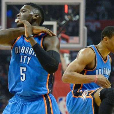 Victor Oladipo and Russell Westbrook