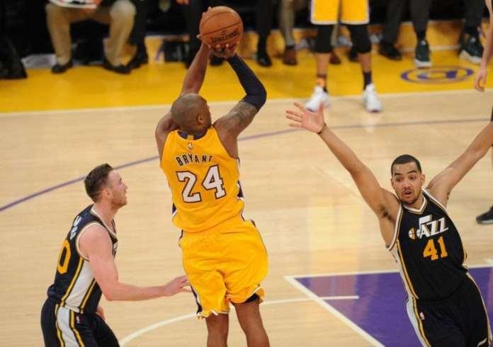 Kobe Bryant pull up jumper