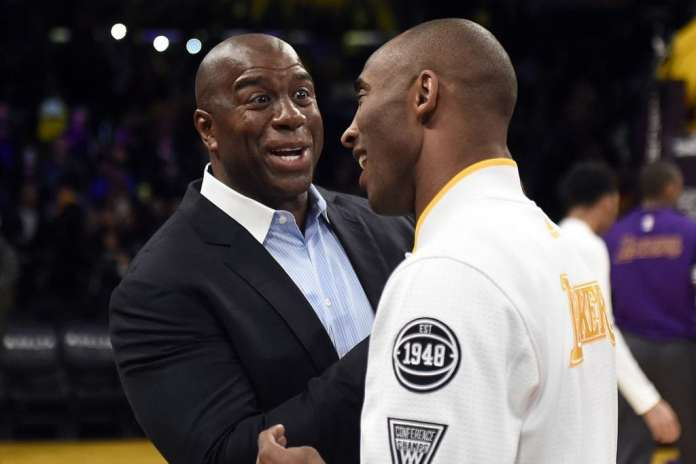 Magic Johnson, Kobe Bryant