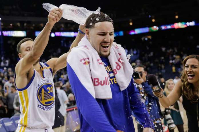 Klay Thompson, Golden State Warriors, Stephen Curry