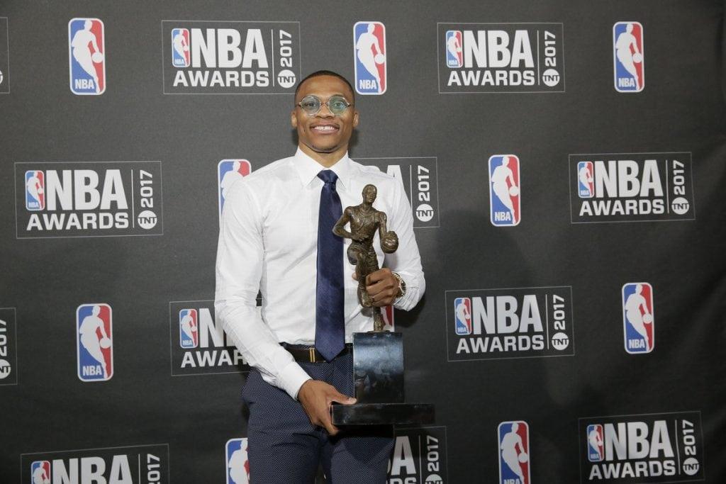 Russell Westbrook, Oklahoma City Thunder, 2017 NBA MVP