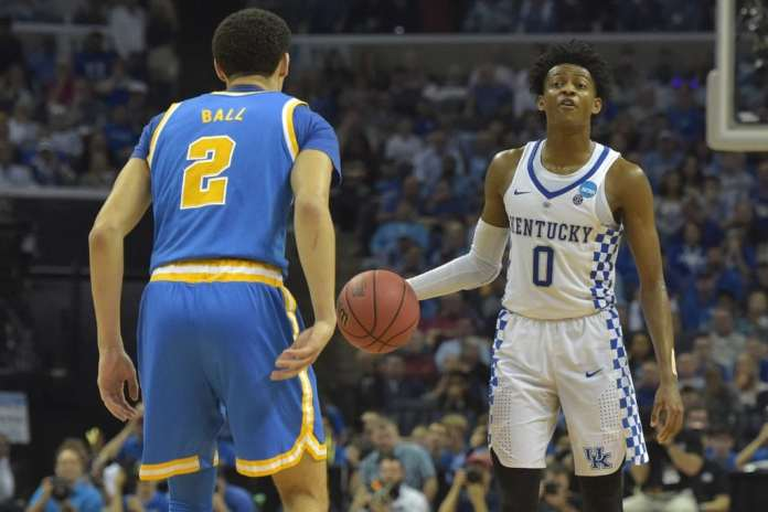 De'Aaron Fox, Lonzo Ball