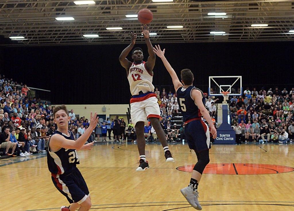 LaMelo Ball. Via: Alex Hicks Jr./Spartanburg Herald-Journal