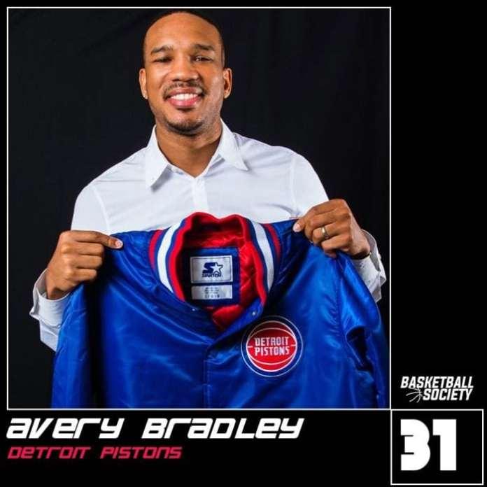 Avery Bradley, Detroit Pistons