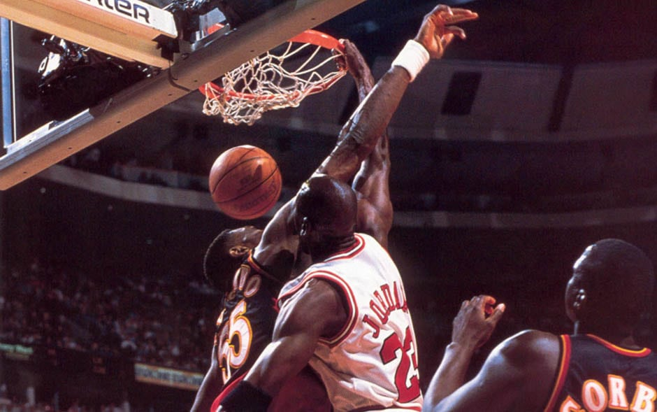 Former Nba Player Recounts Time Michael Jordan Dunked On Dikembe Mutombo