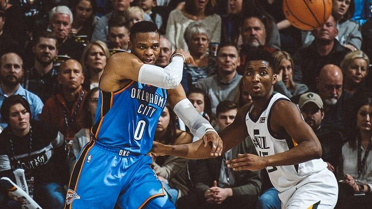 Russell Westbrook vs Donovan Mitchell NBA