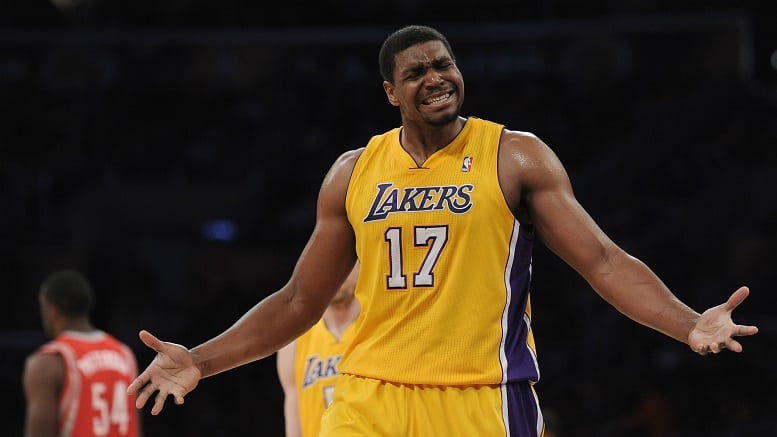 01466f8a916 Andrew Bynum hires representation in attempts of NBA comeback