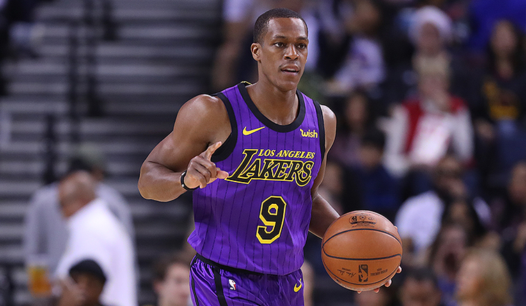 Despite Rajon Rondo's return, Lakers lose to Timberwolves