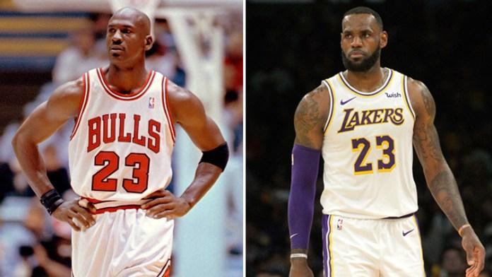 Michael Jordan vs LeBron James NBA