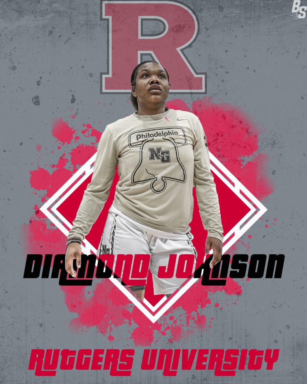 Diamond Johnson, Rutgers