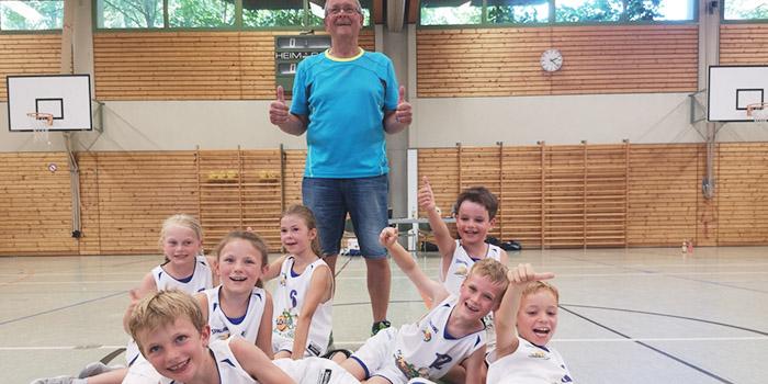 Kreismeisterschaft für Aiblings jüngste Basketballer