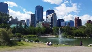 Prince's Island Park in Beautiful Downtown Calgary, Alberta, Canada