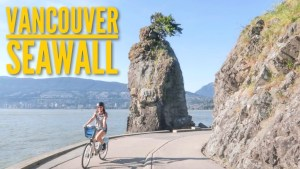 THE MOST SCENIC BIKE RIDE EVER // VANCOUVER SEAWALL 🚲