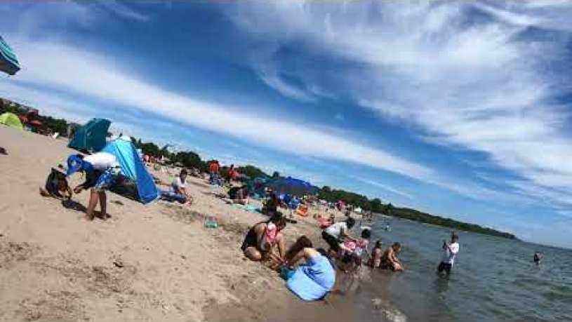Is Woodbine Beach Closed