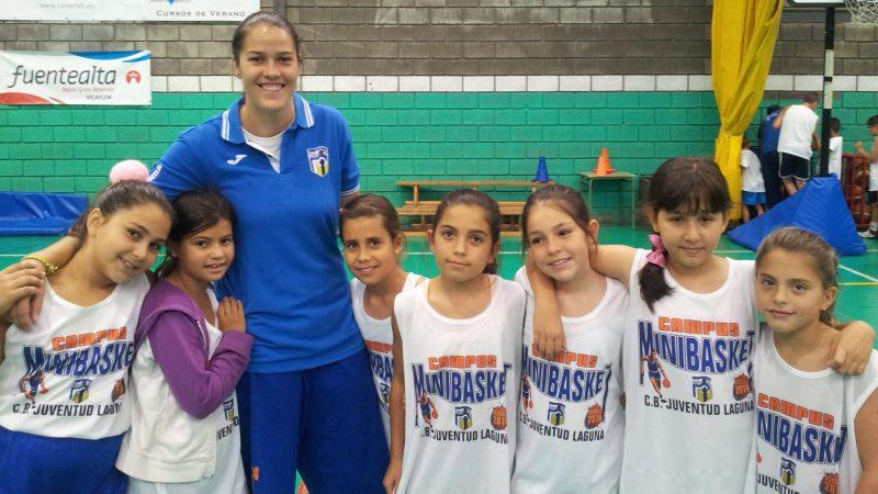 El Juventud Laguna finalizó su 'Campus de Minibasket'