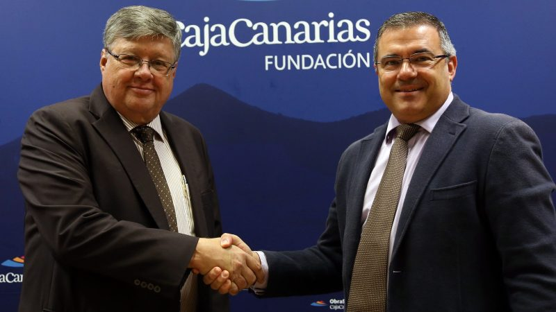 La Fundación CajaCanarias, principal colaborador del 75 aniversario del Club Baloncesto Canarias