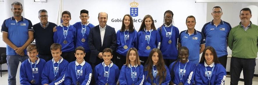 Deportes felicita a las selecciones de Minibasket tras el Campeonato de España