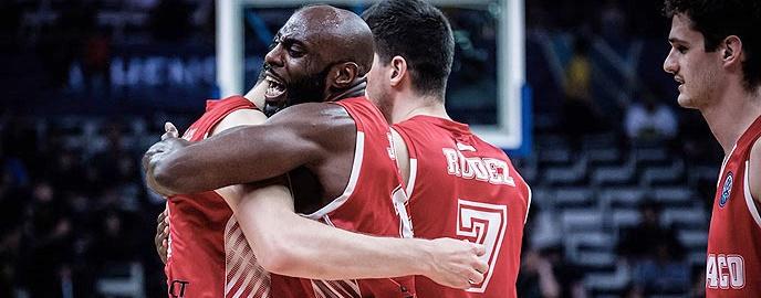 El AS Mónaco, primer finalista de la Basketball Champions League