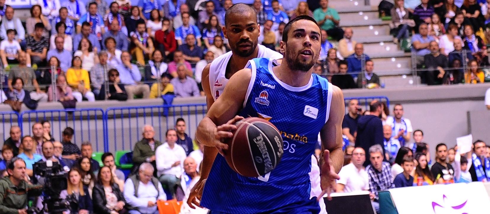 El tinerfeño Álex López consigue con Burgos la permanencia en ACB una temporada más