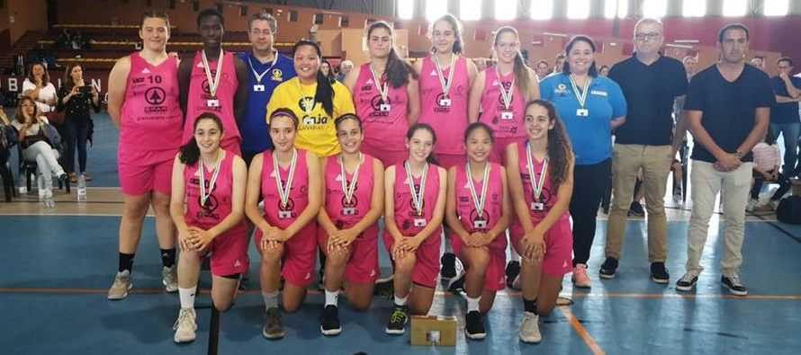 Gran Canaria, en femenino, y Náutico, en masculino, campeones de Canarias Precadete