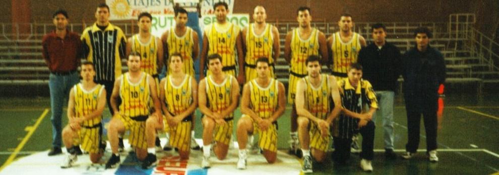 Se cumplen veinte años del último ascenso del Club Baloncesto Canarias