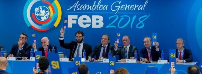 Garbajosa saca adelante la Asamblea FEB 2018