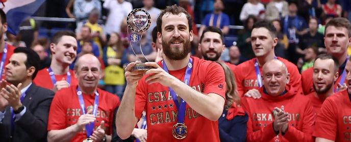 Rodríguez, sobre su primera temporada en el CSKA: «Ha sido un año muy bonito»