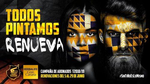 El Gran Canaria comienza su campaña de abonados 18/19