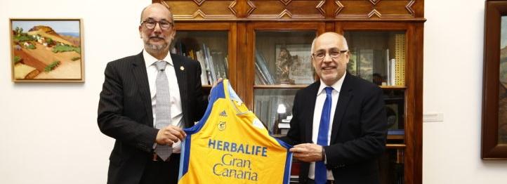 Morales, sobre la posible compra del Gran Canaria-Claret: «Sería lo deseable»