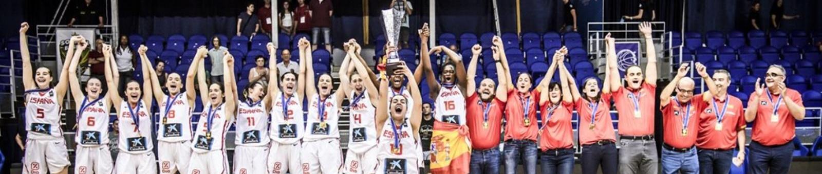 La selección española U20 Femenina, campeona de Europa