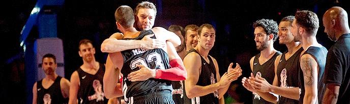 Amigos de Marc Gasol, con Javier Beirán, derrotan a los de Pau (95-91)