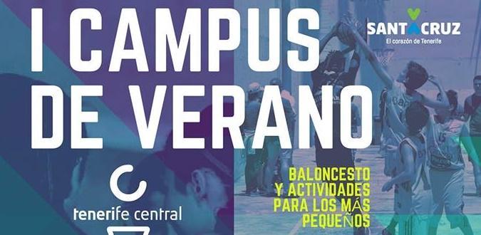 Abierto el plazo para el segundo turno del I Campus de Verano de Baloncesto en el Pabellón de La Salud