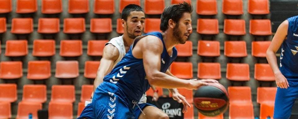 Álex López y Víctor Aguilar, dos canarios entrenando juntos en un equipo ACB