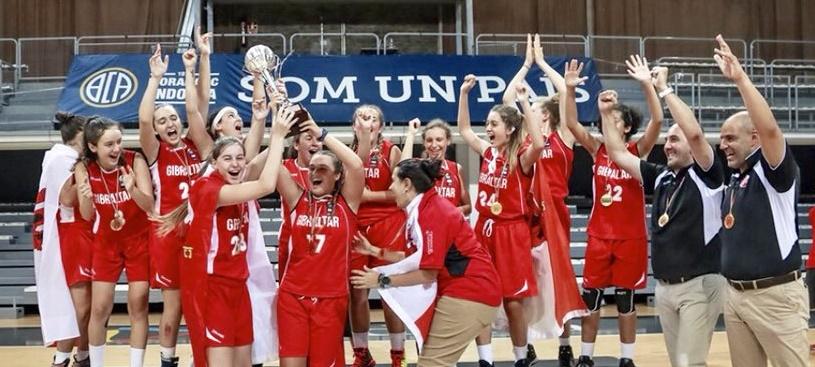 Marta Pérez, júnior del Gran Canaria, campeona de Europa U18 en el Europeo C, con Gibraltar