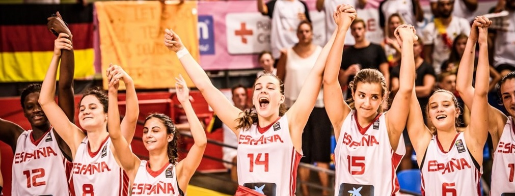 La selección española U18 Femenina se tiene que conformar con la plata del Europeo
