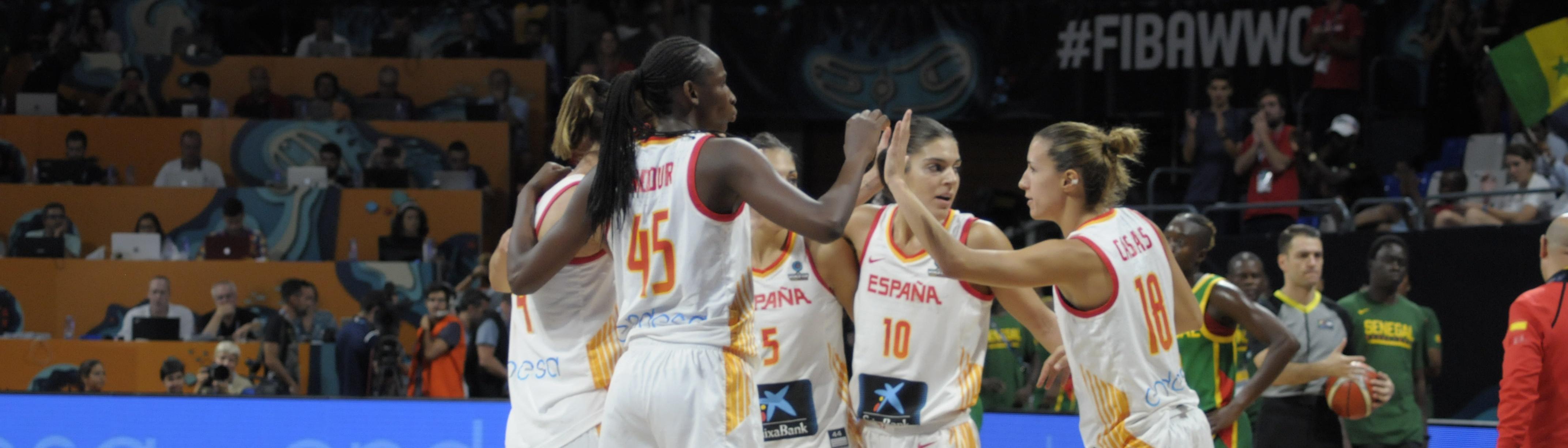 Al habla las jugadoras de España: «Hemos tenido la fuerza necesaria para poder ganar esta final»