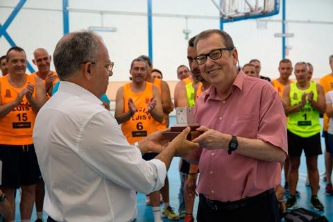 Ha fallecido Luis Alberto Armas Darias, gran valedor del baloncesto en La Gomera