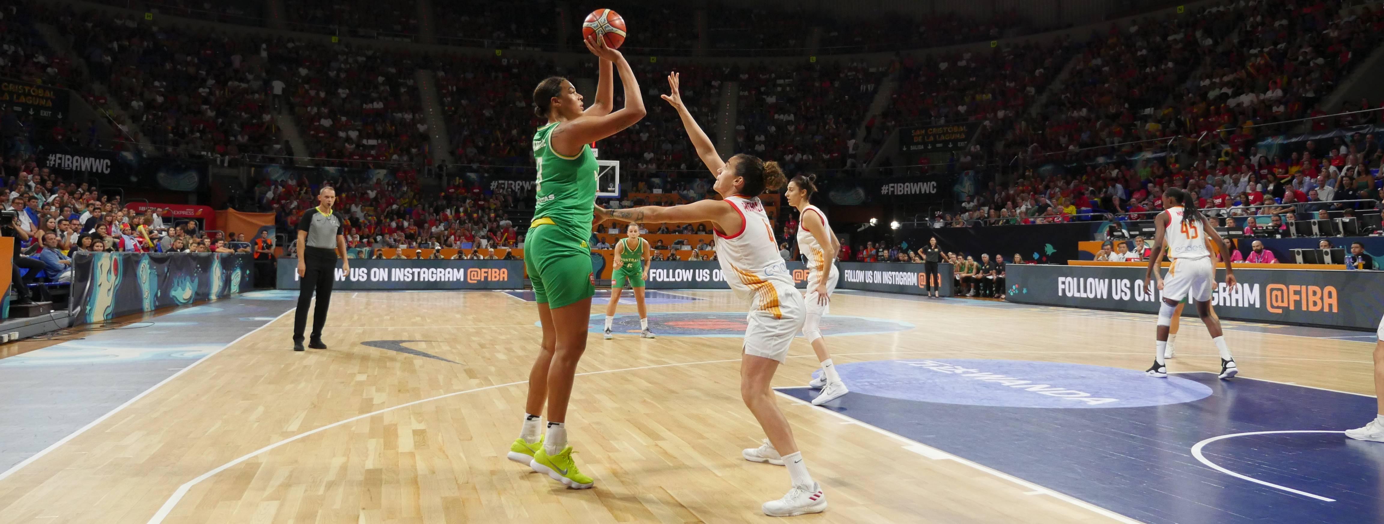 La australiana Cambage deja a España sin final en el Mundial de Tenerife