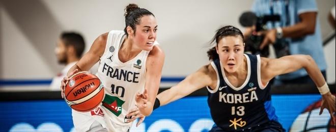 Francia fue de menos a más para superar a una correosa Corea