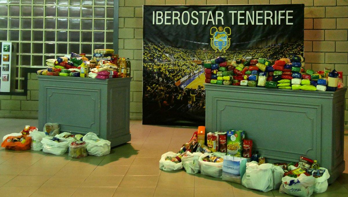 El Cantera Base 1939 Canarias promueve una recogida de alimentos no perecederos