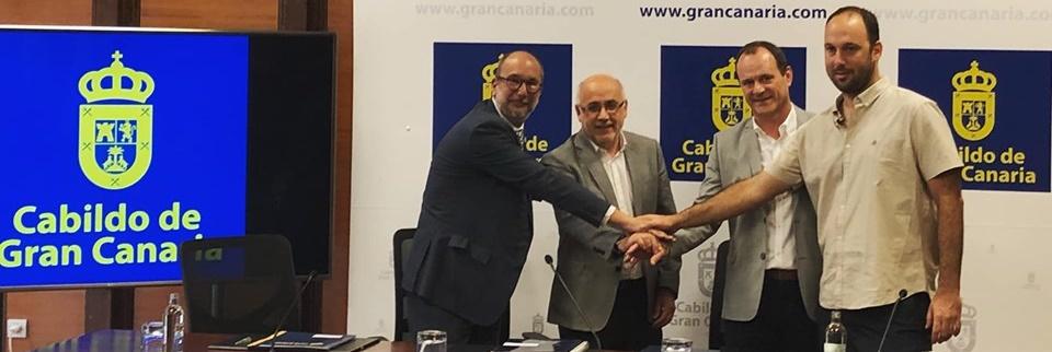 Gran Canaria – Claret y Agüimes firman un acuerdo de colaboración