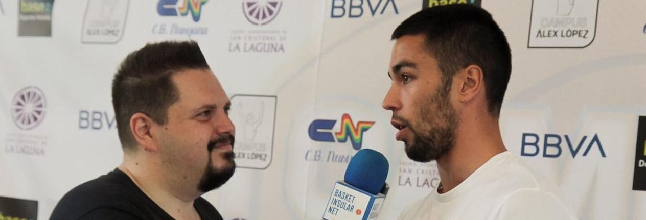 López: «Cuando fiché pensé que jugaría con Beirán, Bassas, San Miguel…»
