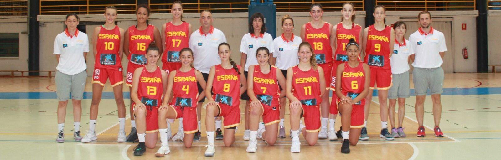 Padilla y Mamadoudou participaron con España en el Torneo BAM