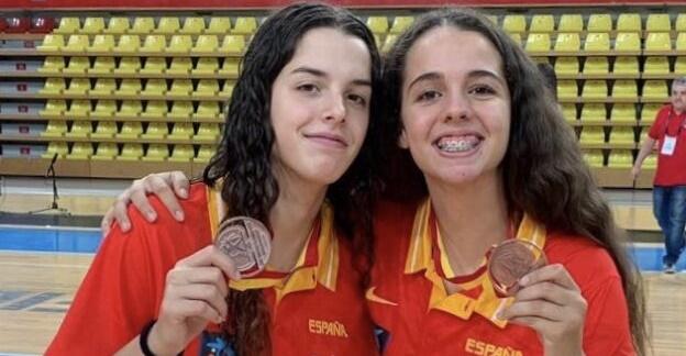 Buenavida y Rodríguez, bronce europeo