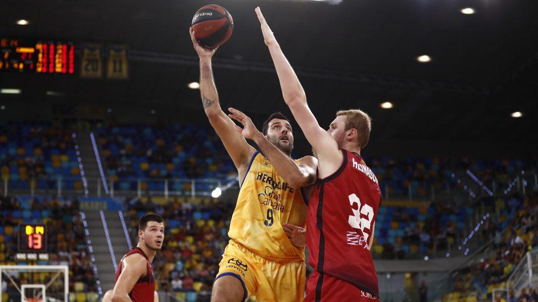 El Gran Canaria – Claret pierde en su debut oficial 19/20 ante el Basket Zaragoza