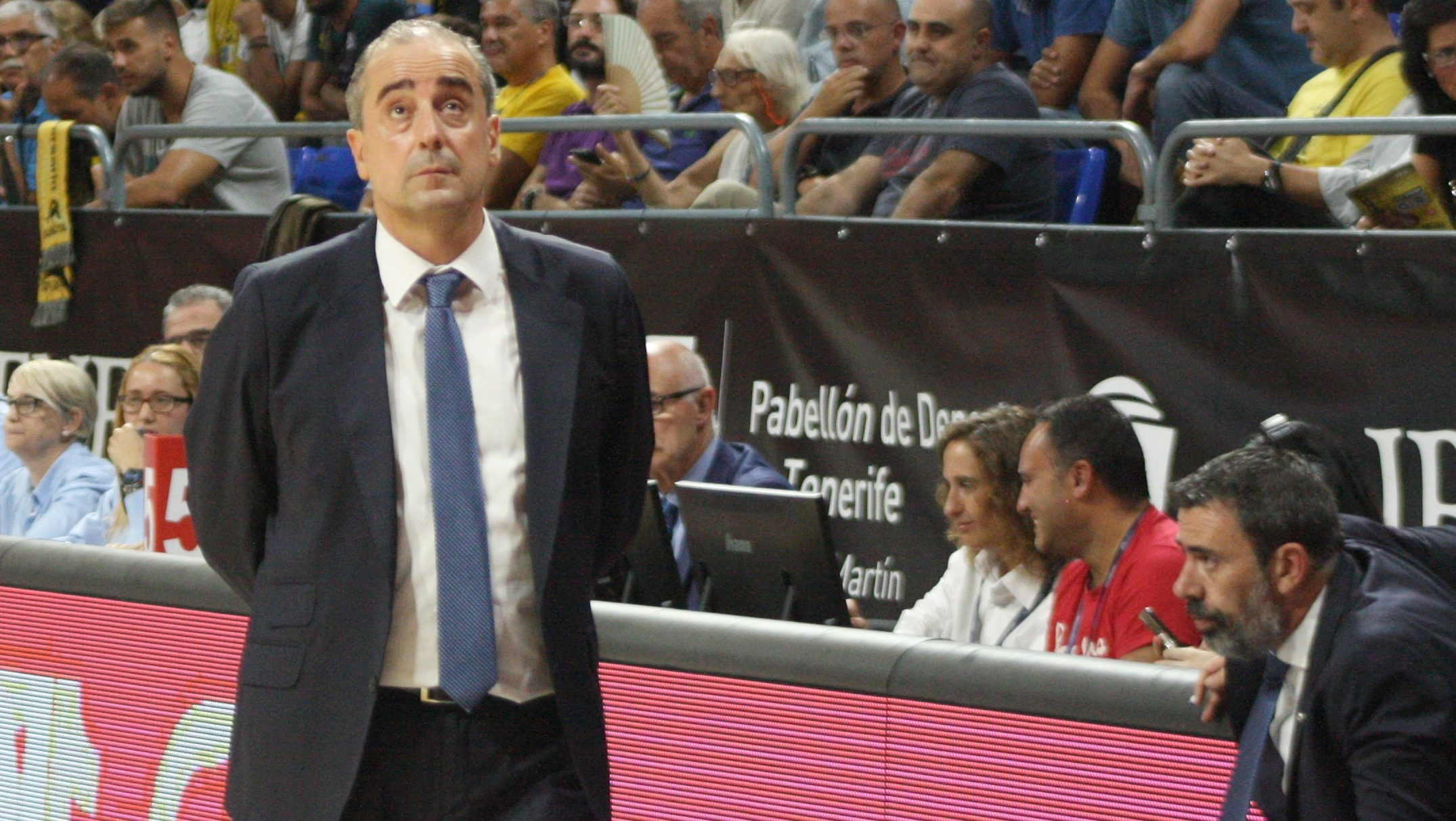 Vidorreta: «Estamos concienciados en los errores que cometimos ante Bilbao Basket»